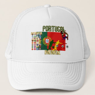 Portugal Soccer Trucker Hat