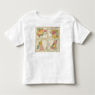 Portugal, Spain, Germany, England, Scottland Toddler T-Shirt