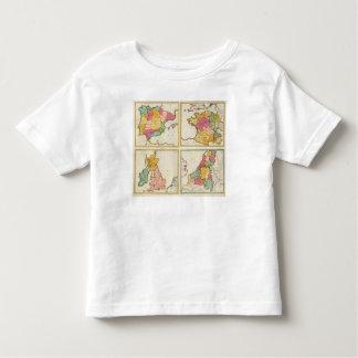 Portugal, Spain, Germany, England, Scottland T Shirts