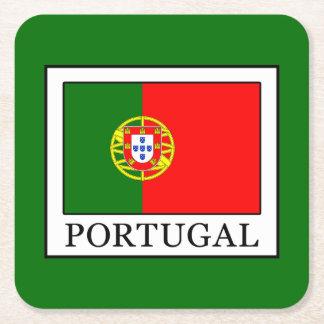 Portugal Square Paper Coaster