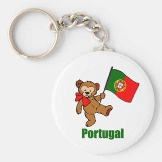 Portugal Teddy Bear Keychain