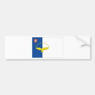 Portugal The Azores Bumper Sticker