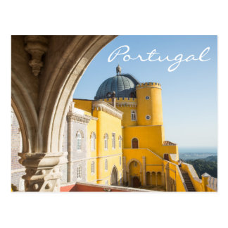 Portugal Travel Postcard - Palacio da Pena
