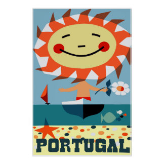 Portugal, Travel Poster