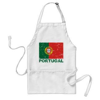 Portugal Vintage Flag Standard Apron