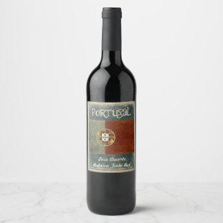 Portugal Wine Label