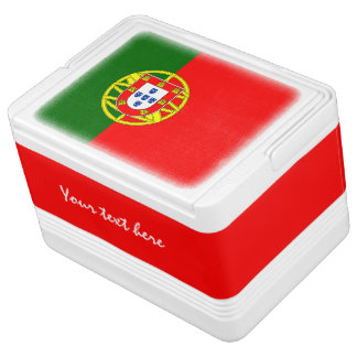 Portugese flag can cooler box | Portugal pride Igloo Cooler