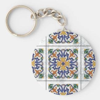 Portugese -  TILE Basic Round Button Key Ring