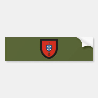 Portuguese Army Commandos Bumper Sticker