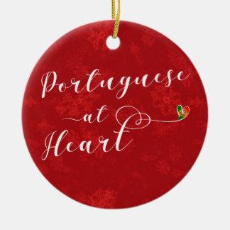 Portuguese At Heart, Christmas Tree Ornament