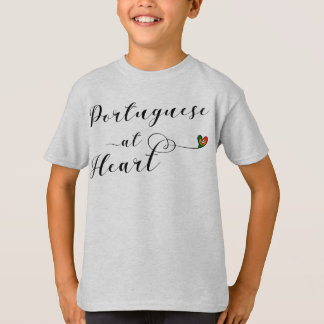 Portuguese At Heart Tee Shirt, Portugal
