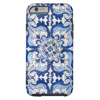 Portuguese Azulejo Glazed Tiles Tough iPhone 6 Case