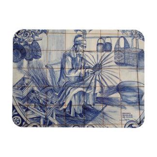 Portuguese azulejo tiles vinyl magnets