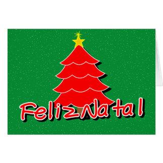 Portuguese Christmas Card