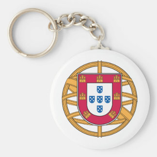 Portuguese Coat of Arms Key Ring