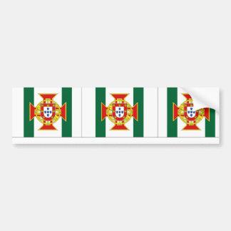 Portuguese Colony Governor, Portugal flag Bumper Sticker