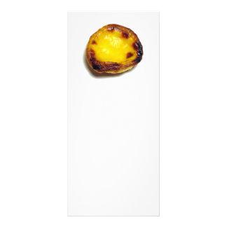 Portuguese custard tart rack card