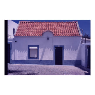 Portuguese Fisherman's House Poster