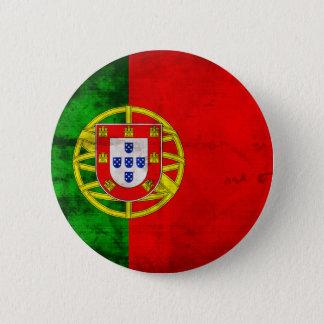 Portuguese Flag 6 Cm Round Badge