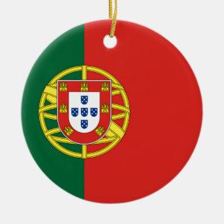 Portuguese Flag Christmas Ornament