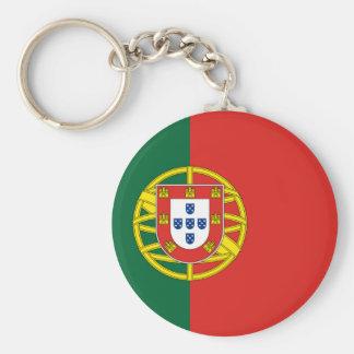 Portuguese Flag Key Ring
