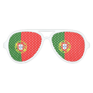Portuguese flag party shades | Portugal pride