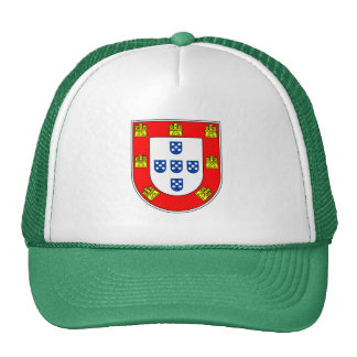 Portuguese flag quality cap