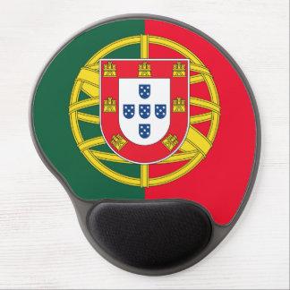 Portuguese flag quality gel mouse mat