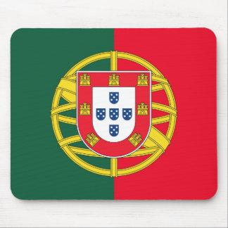 Portuguese flag quality mouse mat
