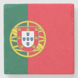 Portuguese flag quality stone coaster