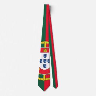 Portuguese flag quality tie