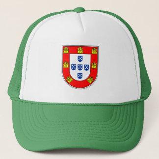 Portuguese flag quality trucker hat