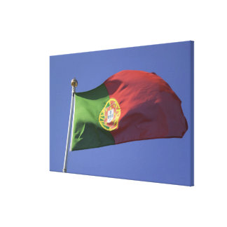 Portuguese Flag RF) Canvas Print
