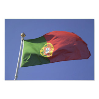 Portuguese Flag RF) Photographic Print