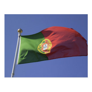 Portuguese Flag RF) Postcard