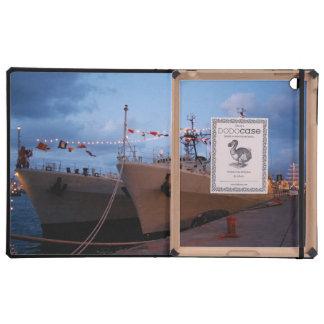 Portuguese frigates iPad folio cover