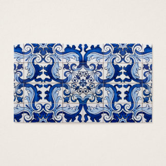 Portuguese Glazed Tiles Business Card