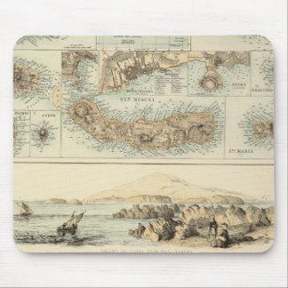 Portuguese Islands in the Atlantic Ocean Mouse Pad