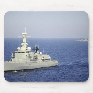 Portuguese navy frigate NRP Bartolomeu Dias Mouse Mat