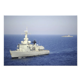 Portuguese navy frigate NRP Bartolomeu Dias Photo Art