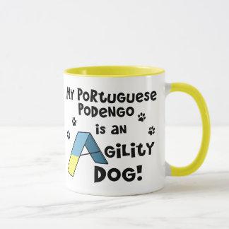 Portuguese Podengo Agility Dog Mug