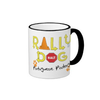 Portuguese Podengo Rally Dog Mug