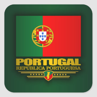 Portuguese Pride Square Sticker
