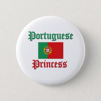 Portuguese Princess 6 Cm Round Badge