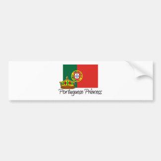 Portuguese Princess Bumper Sticker