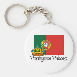 Portuguese Princess Key Ring