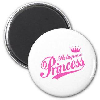 Portuguese Princess Magnet