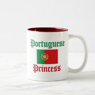 Portuguese Princess Two-Tone Coffee Mug