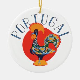 Portugal Christmas Tree Decorations & Ornaments   Zazzle.co.uk