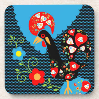 Portuguese Rooster Coaster